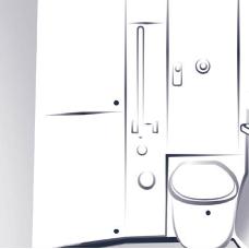 Serrures de portes de toilette